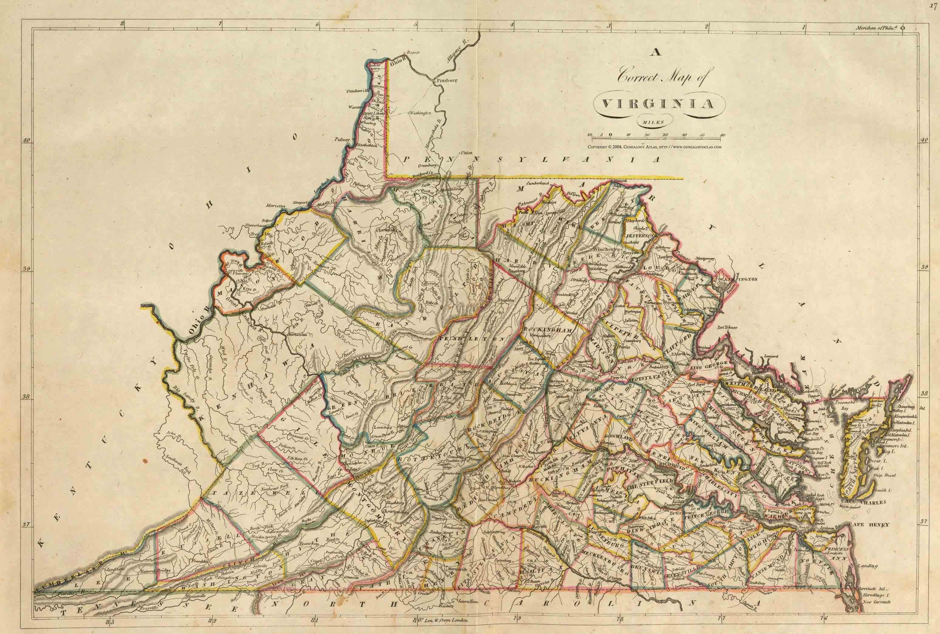 Raymond D Shasteen Genealogy Historical Maps Virginia Us