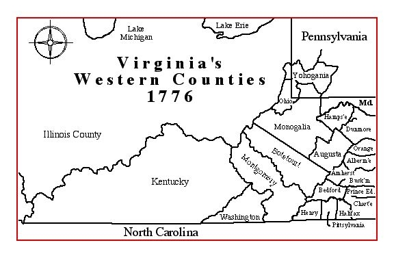 maps of virginia counties. Virginia#39;s Western Counties