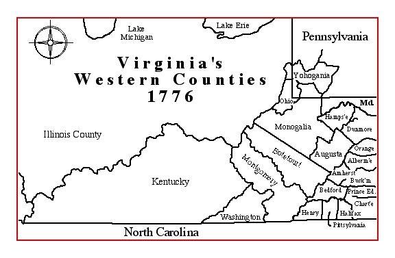 maps of virginia counties. Virginia#39;s Western Counties